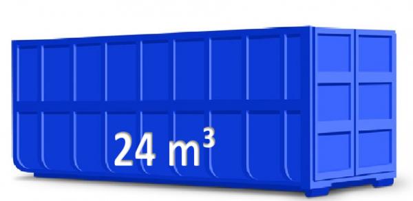 24 m³ Abrollcontainer für Restabfall